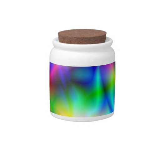 Colorful Abstraction Candy Jar Candy Jar
