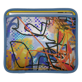 colorful abstraction iPad sleeve