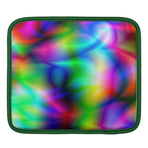 Colorful Abstraction iPad Sleeve Sleeves For iPads