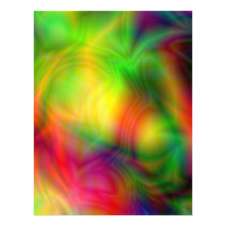 Colorful Abstraction Letterhead