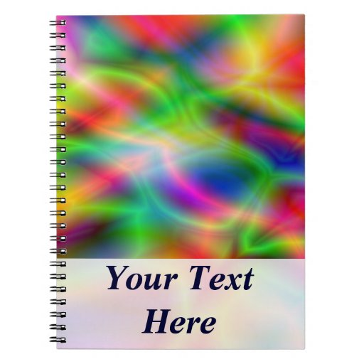 Colorful Abstraction Notebook
