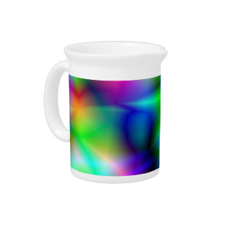 Colorful Abstraction Pitcher