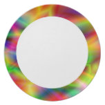 Colorful Abstraction  Plate