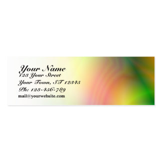Colorful Abstraction Skinny Business Card