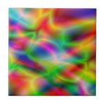 Colorful abstraction tile