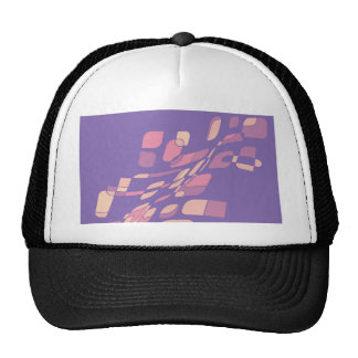 Colorful abstraction trucker hat