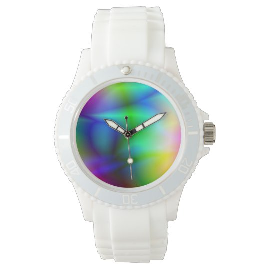Colorful abstraction watch