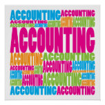Colorful Accounting Poster