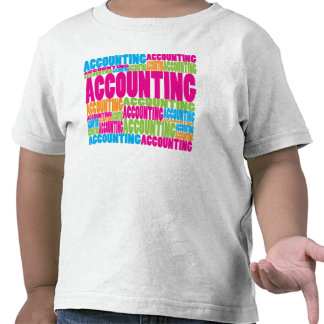Colorful Accounting Tee Shirts