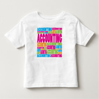 Colorful Accounting Toddler T-shirt
