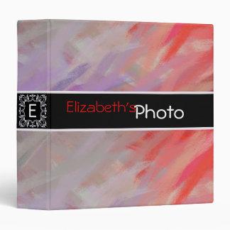 Colorful Acrylic Abstract Album Photo #11 Binder