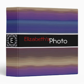 Colorful Acrylic Abstract Album Photo #2 Binder