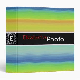 Colorful Acrylic Abstract Album Photo #7 Binder