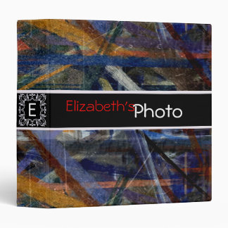 Colorful Acrylic Abstract Album Photo #8 Binder