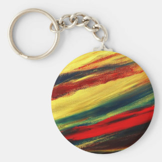 Colorful Acrylic Abstract Keychain