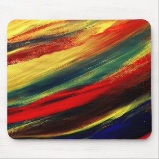 Colorful Acrylic Abstract Mouse Pad
