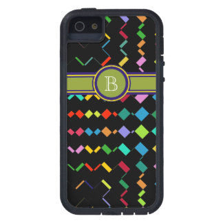 colorful add initial geometric case for iPhone SE/5/5s
