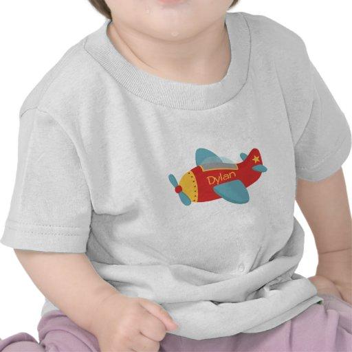 Colorful & Adorable Cartoon Aeroplane Tee Shirts
