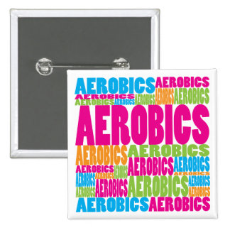 Colorful Aerobics Button