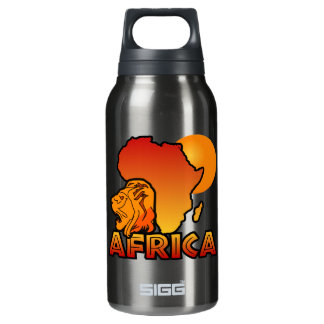 Colorful AFRICA 10 Oz Insulated SIGG Thermos Water Bottle