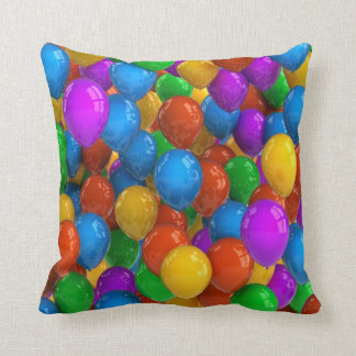 Colorful air balloons pillow