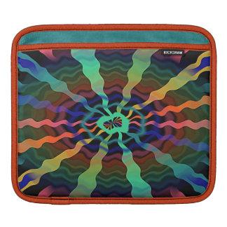 Colorful Airwaves iPad Sleeve