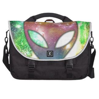 Colorful Alien Computer Bag