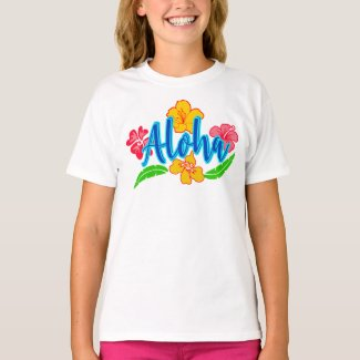 Colorful Aloha Fun Summer T-Shirt