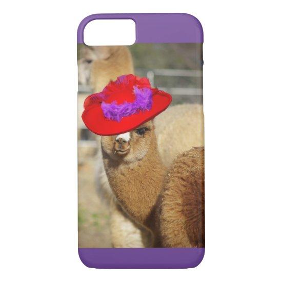 Colorful Alpaca iPhone 7 Case