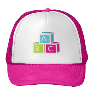 Colorful Alphabet blocks Trucker Hat