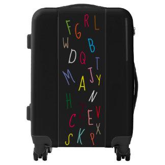 Colorful Alphabet Letters Design Fun Luggage