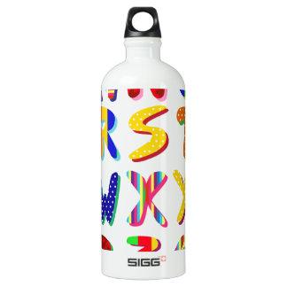 colorful alphabet SIGG traveler 1.0L water bottle