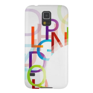 Colorful alphabets galaxy s5 case