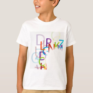 Colorful alphabets T-Shirt