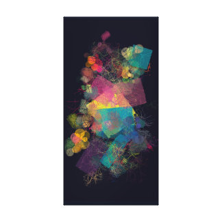 Colorful and Abstract Canvas Print