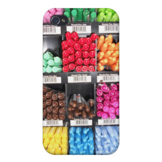 Colorful and Bright Marker Display iPhone 4/4S Covers