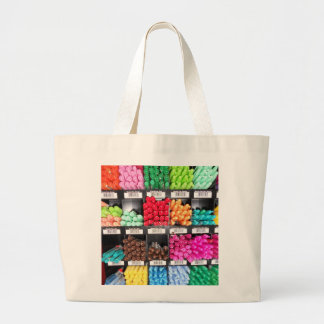 Colorful and Bright Marker Display Large Tote Bag
