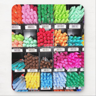 Colorful and Bright Marker Display Mouse Pad