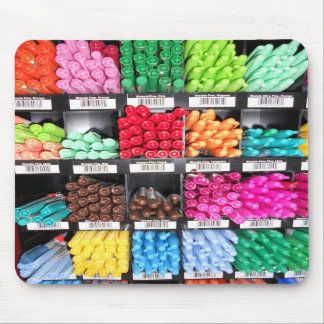 Colorful and Bright Marker Display Mouse Pads