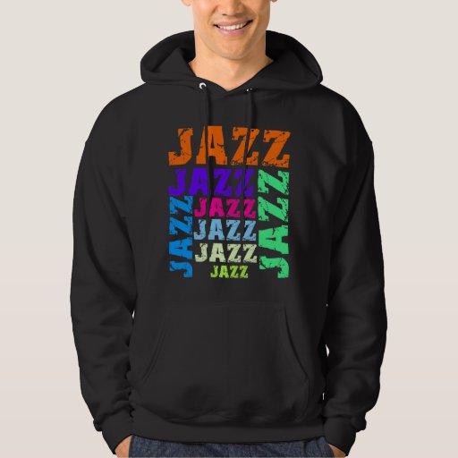 Colorful and cool jazz sweatshirts
