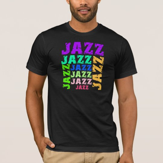 Colorful and cool jazz T-Shirt