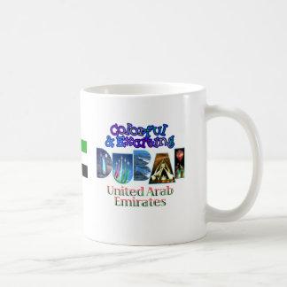Colorful and Exciting Dubai Coffee Mug
