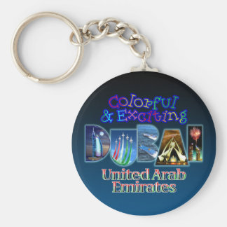 Colorful and Exciting Dubai Keychain