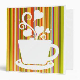 Colorful and Fun Coffee Binder