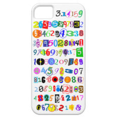 Colorful And Fun Depiction Of Pi Calculated Iphone Se/5/5s Case at Zazzle