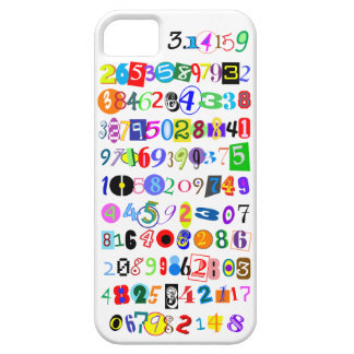 Colorful and Fun Depiction of Pi Calculated iPhone SE/5/5s Case