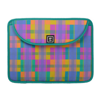 colorful and funny geometric pattern sleeves for MacBook pro