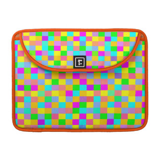 colorful and funny geometric pattern MacBook pro sleeves