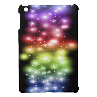 Colorful and Gorgeous Sparkles Rainbow iPad Mini Covers