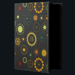"Colorful And Gray Abstract Stars &amp; Circles Powis iPad Air 2 Case<br><div class=""desc"">Cute modern colorful abstract stars and circles seamless pattern over gray background you can change. If you need any help customizing any of my designs,  contact ArtOnWear designer. Free text formatting with live help available by request.</div>"